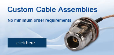 Custom Cable Assemblies No minimum order requirements