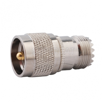 RF Coaxial Coax Antenna Adapter UHF Male PL259 PL-259 to Female so239 SO-239 Straight Connector Adapter