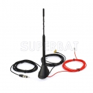 Amplified DAB/DAB+ car radios aerial roof mount antenna