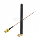 868MHz-870Mhz NFC RFID Antenne Vertical Omni Directional 868 mhz Antenne SMA Stecker + SMA Buchse Pigtail Kabel RG178 6inch 15cm