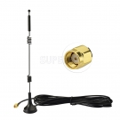 Dual Band WiFi 2.4GHz 5GHz 5.8GHz Magnetic Base RP-SMA Antenna for WiFi Router Booster Range Extender Gateway